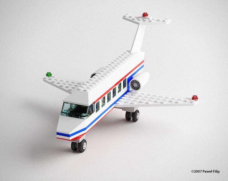 Lego plane – TOLAS